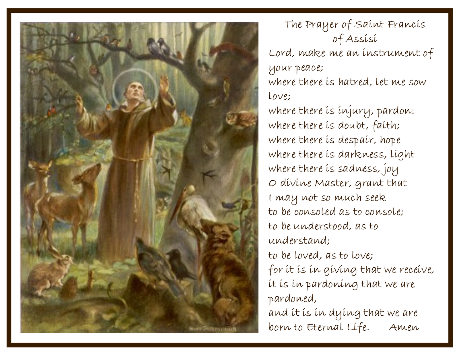 a review of the canticle of creatures a composition by st francis of assisi Canticle of the sun: saint francis of assisi (9781586171643) by fiona french(illus.
