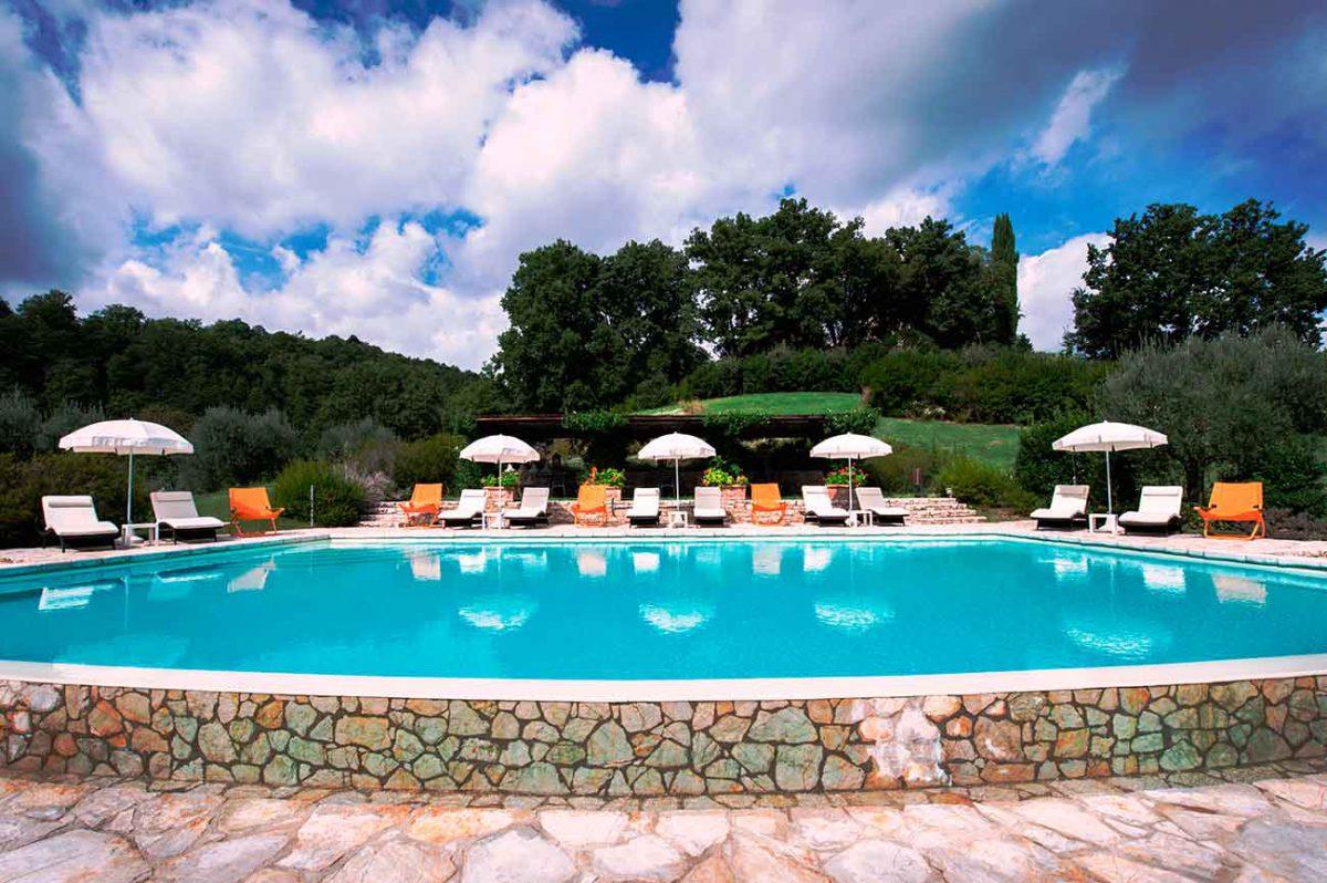 Le Torri di Bagnara - Castello Pieve San Quirico - Pool